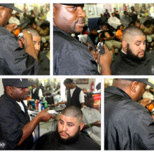 One Stop Barbers at Work!!!